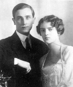 Felix Yusupov y su esposa Irina